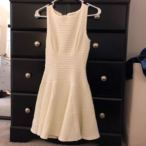 ModCloth Cream Dress
